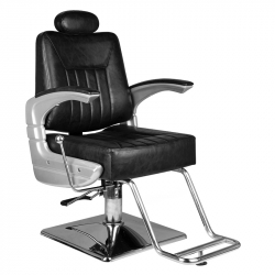Barberarstol HAIR SYSTEM SM182 svart