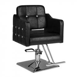 Frisörstol HAIR SYSTEM SM362 svart