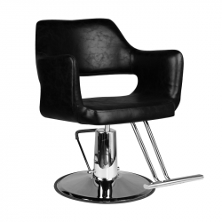 Frisörstol HAIR SYSTEM SM339 svart