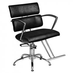 Frisörstol HAIR SYSTEM SM362-1 svart