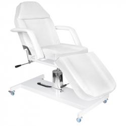 Behandlingssäng vit BASIC 210 på hjul