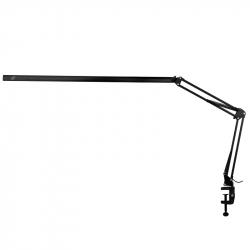 Arbetslampa / bordslampa ALL4LIGHT LASHES LINE 2 LED svart