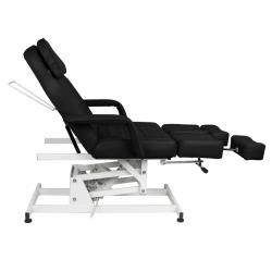 Elektrisk fotvårdsstol / behandlingsbänk svart AZZURRO 673AS PEDI 1-motor