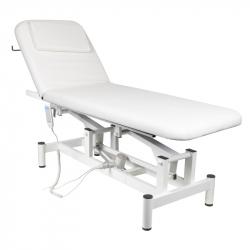 Elektrisk massagebänk vit 079 1-motor