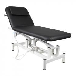 Elektrisk massagebänk / behandlingssäng 079 1-motor svart
