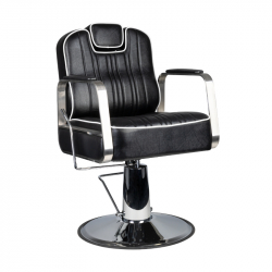 Barberarstol / frisörstol GABBIANO MATTEO svart