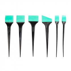 Hårfärgningspensel set 6st silikon