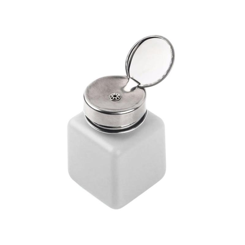 Pumpflaska CHROME 120 ml