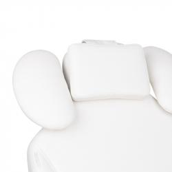 Elektrisk behandlingsstol IVETTE EYELASH vit, 1-motor (ögonfransar / ögonbryn)