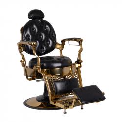 Barberarstol GABBIANO TITO guld / svart