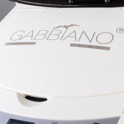 Ångare för hår GABBIANO SAUNA 408D vit med aktiv syre (ozon) väggmodell